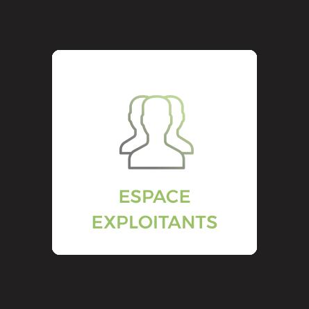 espace exploitants